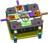 À haute pression la lingotière de moulage mécanique sous pression avec le système de machine de vide