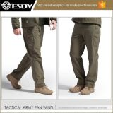 Tactical caza Softshell impermeable al aire libre Deportes de lucha Fleece Pants