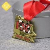Commerce de gros de haute qualité de l'émail doux souvenirs de taekwondo de médaille de sport