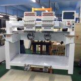 2 Köpfe Dahao flache Stickerei-Maschine mit 9 Farben