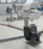 Estirador de tornillo y máquina gemelos de la granulación para el reciclaje de las escamas del animal doméstico