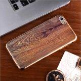 iPhone6/Plusの木製の穀物の滑り止めの粉砕抵抗力がある方法電話箱