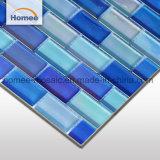 23X48 het hete Verkopende Mozaïek van het Zwembad van de Kleur van de Tegel van de Vloer Glanzende Blauwe