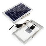 À prova de IP65 54levou 400 Lumen Branco frio o Holofote Externo Solar De Segurança