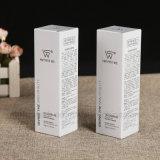 Cadre se pliant blanc de papier enduit de couleur avec l'impression pour le produit de beauté