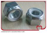 Edelstahl 304 316 Hex Gegenmuttern DIN985 DIN982 ANSI M30