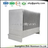 Material de construção de dissipador de calor em alumínio para equipamento da máquina