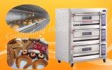 商業パン屋装置のためのカスタマイズされた二重デッキのガスオーブン