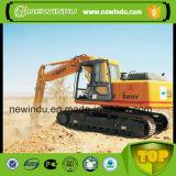 La famosa marca China de maquinaria de la excavadora sobre orugas delantero Sy210c