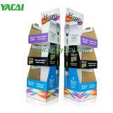 Pop de cartón Expositor de suelo, la publicidad Display de cartón personalizadas para cepillo