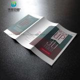 Opuscolo piegante di carta di promozione creativa attraente di Prodcut