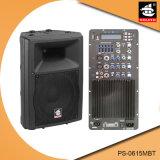 15 Spreker pS-0615mbt van de PA van de Echo van Bluetooth EQ van de FM van de duim 250W USB BR de Plastic Actieve
