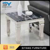 居間の家具の金属の側面のソファー表