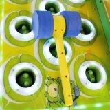 망치 게임 기계 아이 동전에 의하여 운영한 게임을%s 미친 개구리 두더지 구속 아이 게임을 명중해 개구리 두더지를 구타하십시오