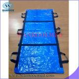 Ga406 impermeabilizan el bolso mortuorio azul material del cadáver del PE de los PP