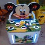 망치 강타를 명중해 Mickey 동전에 의하여 운영하는 개구리를 명중하는 최신 판매 게임 기계 두더지 구속 게임 기계