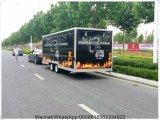2017 de mobiele Aanhangwagens van de Vrachtwagen van het Voedsel voor Verkoop