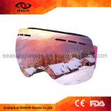 Miniski-Boots-Schutzbrille-Wasser-Ski-Bewegungsboots-Magnet-Schutzbrille-Glas-Ski fahrende Sonnenbrillen Googles mit kundenspezifischem Firmenzeichen