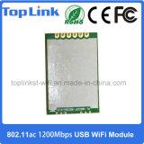 3.3VDC rtl8812BU 802.11ac/A/B/G/N 1200Mbits/s USB haute vitesse Module WiFi intégré sans fil