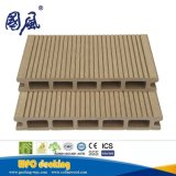 Revestimento composto plástico de madeira 174*25mm WPC do Decking Recyclable de 100%