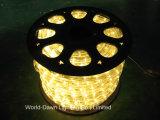5-LED DIP de cable plano flexible de la luz de la cuerda con Multi-Color