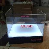Cubo de hielo de encargo del plástico LED