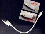 Один кабель достаточно как для IOS и Android с одним разъемом 2 в 1 Двойной кабель питания.