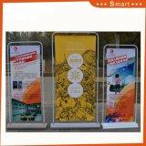 Pp.-Papierplakat-bekanntmachender Tür-Innentyp Ausstellungsstand-Fahne