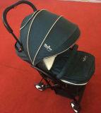 Luxo do carrinho de criança de bebê do guarda-chuva e Buggy de bebê