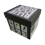 Caja de regalo rígido de la Copa de embalaje con espuma negra