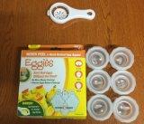 Huevo duro Eggies Eggies System 6 y un separador de Huevos