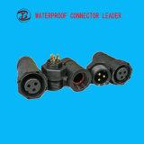 防水円のアセンブルされたM14 3 4 5 8つのPinセンサーのコネクター