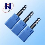 R3X12xd6X50X2f HRC45 Carboneto sólido 2 flautas ponta esférica fábrica de alumínio de alta velocidade e APC