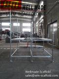 AS/NZS 1576 Kwikstage Transom основы системы HDG Австралийский стандарт Transom