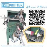 Machine d'impression cylindrique d'écran de bouteille pneumatique de TM-400c
