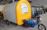 Carro móvel elétrico do alimento da alta qualidade feito em China