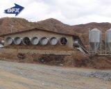 Afrika-heißes verkaufendes Handelsstahlgeflügel bringen/Huhn-landwirtschaftliches Gebäude unter