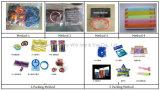Braccialetti promozionali del silicone di colore riempiti Segment+Debossed