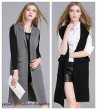 Печатный материал большого размера моды осень зима шерстяной наделяют женщин нанесите на