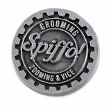 高品質亜鉛合金Pinのバッジの折りえりPinは装飾3Dのアンカー形の金属のバッジに着せる
