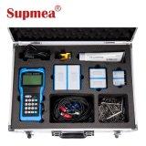 液体の固定電池式の超音波携帯用超音波流量計