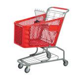 Carrello all'ingrosso del carrello di acquisto della drogheria del metallo del supermercato