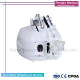 4 1 Diamantes Microdermoabrasión piel Rejuvenecimiento Máquina de limpieza profunda