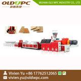 PE Uitdrijving van de Machine van de Lopende band van het Profiel van de Machines van de Extruder van het Profiel van het Comité van pvc WPC de Plastic