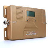 Intelligentes Doppelbandmobiles ZusatzHandy-Signal-Verstärker des Signal-1800/2100MHz
