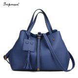 Form-Plaid-Leder-Frauen-Beutel-Handtaschen-Luxuxentwerfer-Schulter-Beutel