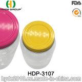 12oz FDA claros plástico Mason Cup com Wid boca (HDP-3107)