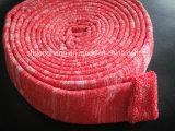 Manchon d'amortissement de couleur rouge/couvercle amortisseur pour machines à imprimer offset