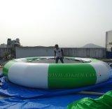 Ponticello gonfiabile, trampolino gonfiabile dell'acqua, sosta gonfiabile del Aqua/sosta di galleggiamento gonfiabile dell'acqua