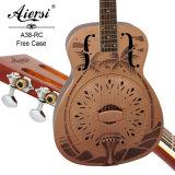 Aiersiのブランド様式「O」の新しいデザイン赤い銅の共鳴器のギター